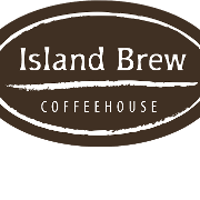 This is the restaurant logo for Island Brew Coffeehouse