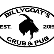This is the restaurant logo for Billygoat's Grub & Pub