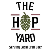 This is the restaurant logo for The Hop Yard