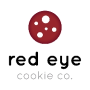 This is the restaurant logo for Red Eye Cookie Co.
