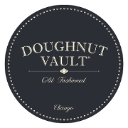 This is the restaurant logo for Doughnut Vault