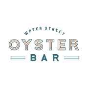 This is the restaurant logo for Water Street Oyster Bar