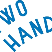 This is the restaurant logo for Two Hands