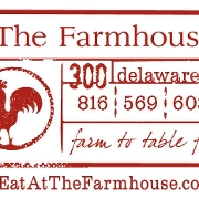 This is the restaurant logo for The Farmhouse
