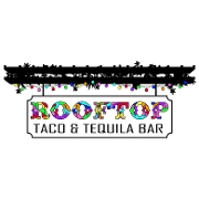 This is the restaurant logo for Rooftop Taco & Tequila Bar