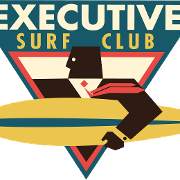 This is the restaurant logo for Executive Surf Club