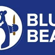 This is the restaurant logo for Blue Bear
