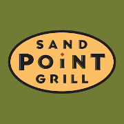 This is the restaurant logo for Sand Point Grill