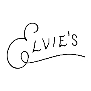 This is the restaurant logo for Elvie's