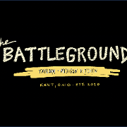 This is the restaurant logo for Battleground Taproom and Kitchen
