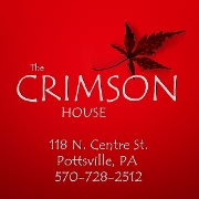 This is the restaurant logo for The Crimson House