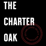 This is the restaurant logo for The Charter Oak