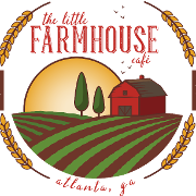 This is the restaurant logo for The Little Farmhouse Cafe