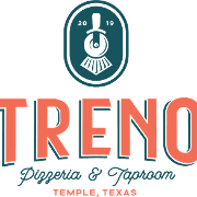 This is the restaurant logo for Treno Pizzeria