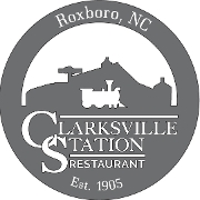 This is the restaurant logo for Clarksville Station