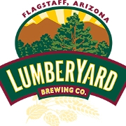 This is the restaurant logo for Lumberyard Brewing Company