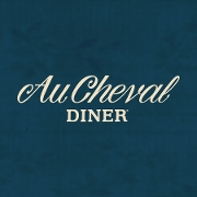 This is the restaurant logo for Au Cheval Chicago