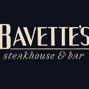 This is the restaurant logo for Bavette's Bar & Boeuf