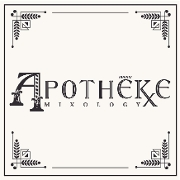 This is the restaurant logo for APOTHEKE