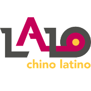This is the restaurant logo for Lalo-Chino Latino