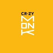 This is the restaurant logo for Crzy Monk