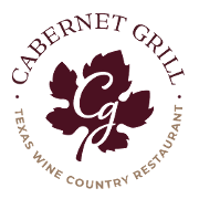 This is the restaurant logo for Cotton Gin Cabernet Grill