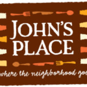 This is the restaurant logo for John's Place