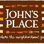 Restaurant logo for John's Place