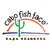 This is the restaurant logo for Cabo Fish Taco - Blacksburg