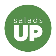 This is the restaurant logo for Salads UP