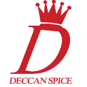 This is the restaurant logo for Deccan Spice