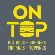 This is the restaurant logo for On Top R House Baltimore
