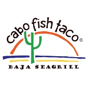 This is the restaurant logo for Cabo Fish Taco - Ballantyne