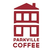This is the restaurant logo for Parkville Coffee