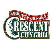 This is the restaurant logo for Crescent City Grill