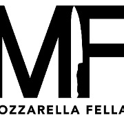 This is the restaurant logo for Mozzarella Fellas