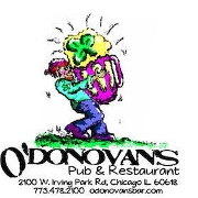 This is the restaurant logo for O'Donovan's Pub and Restaurant