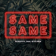 This is the restaurant logo for Same Same