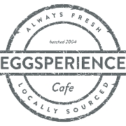 This is the restaurant logo for Eggsperience Breakfast & Lunch