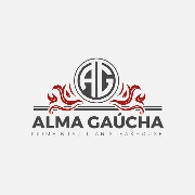This is the restaurant logo for Alma Gaucha