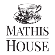 This is the restaurant logo for Mathis House Take Out, Online Gift Shop and Farm Stand Orders for Pick Up