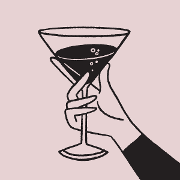 This is the restaurant logo for Chef's Special Cocktail Bar
