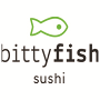 Restaurant logo for BittyFish Sushi