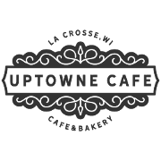 This is the restaurant logo for Uptowne Cafe