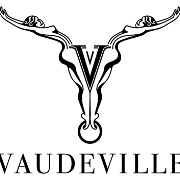 This is the restaurant logo for Vaudeville