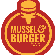 This is the restaurant logo for Mussel and Burger Bar