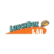 This is the restaurant logo for LunchBox Laboratory
