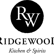 This is the restaurant logo for Ridgewood Kitchen & Spirits