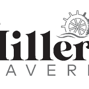 This is the restaurant logo for The Millers Tavern