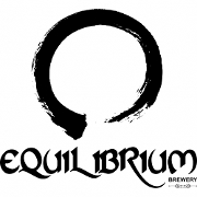 This is the restaurant logo for Equilibrium Brewery